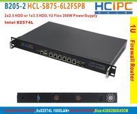 Wholesale HCiPC B205 HCL SB75 L2FSPB B75 L intel LAN U Firewall BareBone