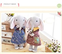 Wholesale 16 Inch Plush Sweet Cute Lovely Kawaii Stuffed Baby Kids Toys for Girls Birthday Christmas Gift cm Elephant Metoo Doll
