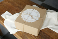 Wholesale 2000pc Paper Doily Embossed quot Round Paper Doilies Pad Of Lace Paper Cake Paper G