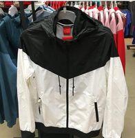 autumn fashion trends - Hot Sale Men Sport Hip Hop Outdoor Waterproof Windbreaker Mens Womens Jacket Autumn Patchwork Reflective Jacket Men Kids Coat Trend Brand
