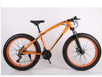 Wholesale 26 inches speed speed of snow mountain bike Disc brakes super wide tires damping Beach Bike