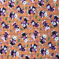 Venta al por mayor Cartoon Duffy tejido de algodón de oso para la costura de cuarzo grasa Quilting Patchwork Doll niños ropa de cama de remiendo de bebé