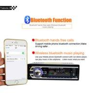 Wholesale Car Electronics V V Autoradio Audio Player DIN Car Radio Kits Stereo FM Tuner Bluetooth AUX MP3 Player SD USB Car Charger