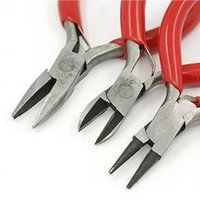 Wholesale 3pcs color coded mini pliers jewelry pliers pinchers tongs jewelry tools multi function MD1036