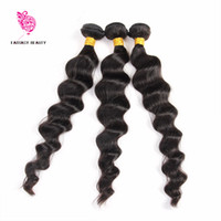 Wholesale Brazilian Loose Wave Virgin Hair Weave Bundles Brazilian Hair Bundles Pack Human Hair Brazilian Loose Wave