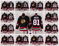 Wholesale Chicago Black Hawks Hockey Stitched Jersey JONATHAN TOEWS KEITH CRAWFORD SHAW HOSSA PATRICK KANE