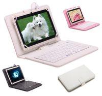 Comprimé q88 allwinner Prix-Stocks américains! IRULU Q88 7 pouces Android Tablet PC 4.4 Tablet PC ALLwinner A33 Quade Tablette double caméra 8 Go Tablettes 512MB avec clavier