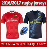 Wholesale top quality Munster city Rugby jersey home away football shirts Munster Rugby jerseys euro men size S XXXL