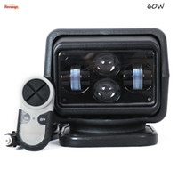 Wholesale 7inch W Cree Chips Black White Shell Wireless Control Searchlight Light For SUV Car Offroad Hunting V V