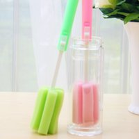 Wholesale BornIsKing Cup Brush Kitchen Cleaning Tool Sponge Brush For Wineglass Bottle Coffe Tea Glass Cup Mug