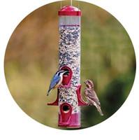 Wholesale European wild bird feeder Outdoor bird feeders food container