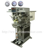 automatic pad printing - Softball Ink Cup Pad Printing Machine Automatic printing machine Automatic color printing machine Pad printing machine