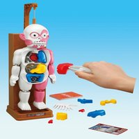 anatomy children - 4D Human Anatomy Colorful Children Learning Human Boby Model Building Block Intelligence Toys New Year Gift D247