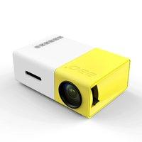 achat en gros de jeux vidéo bon marché-Grossiste- YG300 projecteur vidéo bon marché   Leds mini beamer pour led tv jeu vidéo