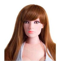 Cheap Jane The New Famous Chinese Realistic Blow Up Doll 165cm Silicone Vagina Pussy Oral Anal Masturbator Senior Silicone Half Solid Inflatab