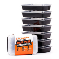 Wholesale LIFT Certified BPA Free Reusable Microwavable Meal Prep Containers with Lids Ounce Pack Includes Ebook