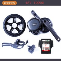 Wholesale 48V W FUN Mid Drive Motor Center Motor mit Bafang Kit BBSHD Latest Colorful Display TFT Screen Colourful
