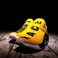 baseball pitches - Update NMD quot Human Race quot Colorway Runner NMD Human Special Pitch Black Runner White Boost Running Shoes NMD run yellow based color With Box
