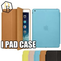 Wholesale quality Ipad case smart cover for Ipad mini Ipad Ipad air with retail package aniline dyed leather colorful protector