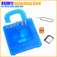 Wholesale NEW RSIM R SIM V18 Unlocking Card for iOS10 iOS9 iOS8 iOS7 iPhone S S