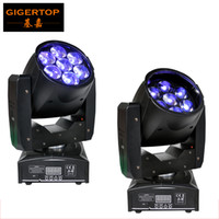 beam stages - Freeshipping Professional LED ZOOM Wash Light Beam Moving Head Light X12w Stage Lights RGBW in1 Sound Control V V