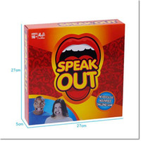 Wholesale Hotest Speak Out Game KTV party game cards gag toys for party Christmas gift newest best selling christmas novelty toy A106