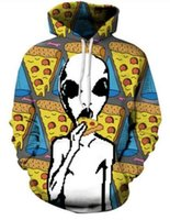 alien clothes - Galaxy Nebula tshirt unicorn Alien Hoodies Women Men Fashion Clothes tops Casual Harajuku Poker Jumper Albert Einstein Outfits