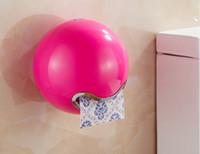 Wholesale creative waterproof roll paper holder bathroom paper holder toilet paper holder napkin box