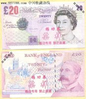antique banks - UK Pound BANKNOTES GDP Bank Staff Training Collect Learning Banknotes New Arts Gifts