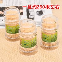 bamboo toothpick - NEW High Quality Bamboo Toothpick Creative pagoda natural bamboo toothpick barrel toothpick portable box