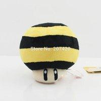 bee mario - 11cm Super Mario Series Plush Queen Bee Toad Mushroom Soft Stuffed Plush Doll Toy For Children