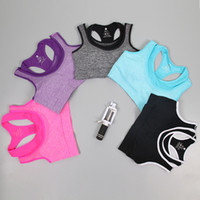 Wholesale Factory direct sale campaign season running fitness yoga breathable perspiration without rims damping off two sports bra
