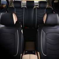acura sports cars - nterior Accessories Automobiles Seat Covers Luxury Leather car Seat Cover universal Black Beige Gray sport car seat covers