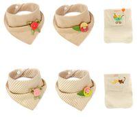 bandana bib packs - Vesunis Baby Bandana Drool Bibs Set Pack Bibs for Baby Girls Pack Absorbent Wicking Towel