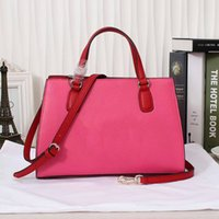 band tote - Popular Hard Leather Lady Handbags with Flap Pocket Socialite Style Plain Totes with Single Shoulder Band