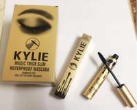 Wholesale Kylie Jenner Mascara Magic Waterproof Thick Slim Mascara Long Eyelash Helper Make Up Cosmetics Birthday Gift