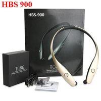 Wholesale HBS HBS HBS Stereo Bluetooth Wireless Earphone Sport Neckband Headphones For iPhone SAMSUNG Smartphones