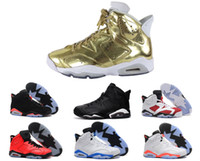 Wholesale new man basketball shoes air retro black cat Angry bull carmine infrared oreo maroon Metallic Gold sport sneaker us size