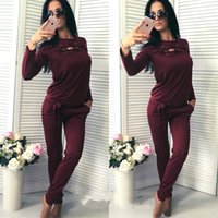 baseball pant big - new female fashions sportsuits big brand hot sell women piece set casual hoodies and lonf pants jogging clothes