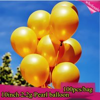 Bubble ballon advertising - 10 Inch Pearl Color Latex Balloons Birthday Decorations Party Ballon Decoration Globes Purple high quality factory