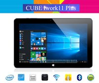 Venta al por mayor- Cubo Iwork11 Plus Windows10 Tablet PC 11.6 '' IPS 1920x1080 Intel Atom X5-Z8300 Quad Core 2.0MP + 5.0MP Cámara HDMI
