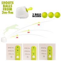 Jeux de chiens pour enfants Prix-Funny Tennis Ball Thrower Exercice Toy Trainer Catch Cricket Baseball Kid Dog Puppy Doggie Pet Ball Jouer Interactive Game Hyper Fetch