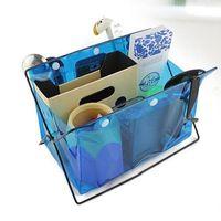 Wholesale Pockets Storage Bag PVC Transparent Bag Storage Organizer bathroom shelves Storage Holders Racks JF