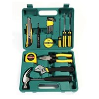 Wholesale 16 tool kit Metal toolbox combined packages gift set Automotive Repair Kits