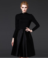 Wholesale hot sell women s classic little black dress never out of style