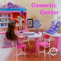 baby rooms furniture - Pink Dream makeup Center dressing room for barbie doll doll accessories doll furniture girls baby DIY toys