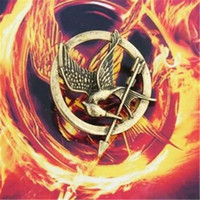 arrow designs - Hunger Games Brooches Inspired Mockingjay DHL And Arrow Designs Hot Movie Hunger Games Bird Brooch Pins for Women And Men