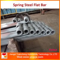 Wholesale 50CrVA Hot Rolled Spring Steel Flat Bar For Leaf Spring Making