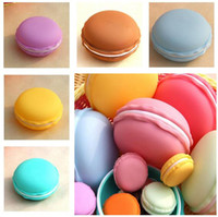 Wholesale Jewelry Box Macaron Shape Storage Box Candy Organizer Pill Case Container cm Colors