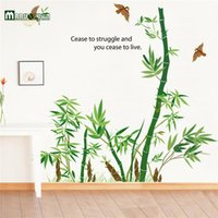 bathroom tile for sale - Bamboo Wall Sticker Vinyl Wall Stickers For Kids Rooms Home Decor Bathroom Sofa Wall Decals Adesivo De Parede Hot Sale